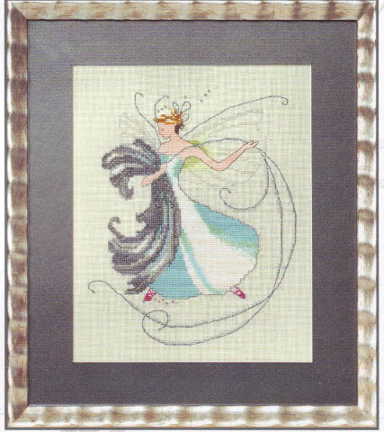 click here to view larger image of Floss Fairy - Stitching Fairies (chart only) (chart)