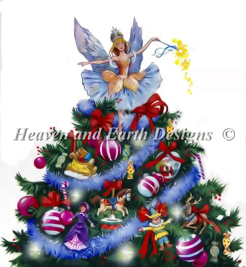 click here to view larger image of Christmas Fairy, The (chart)