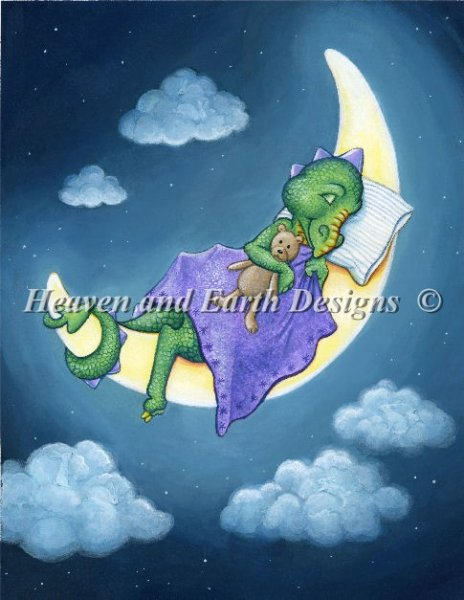 click here to view larger image of Baby Dragon Dreams (chart)