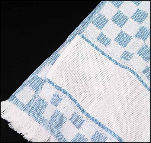 click here to view larger image of Verona Kitchen Towel - Blue (stitchable)