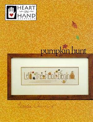 click here to view larger image of Pumpkin Hunt (chart)
