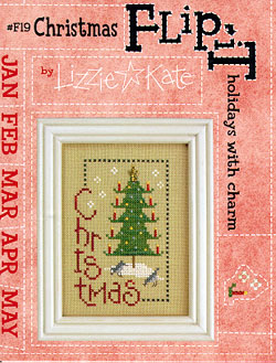 click here to view larger image of Flip-It Christmas  (chart with charms/buttons)