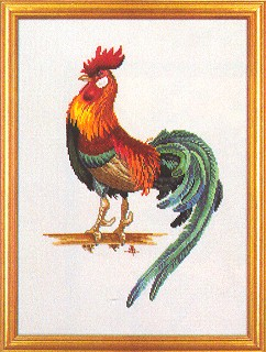 click here to view larger image of Proud Rooster (counted cross stitch kit)