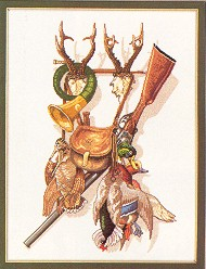 click here to view larger image of Hunting Gear (counted cross stitch kit)