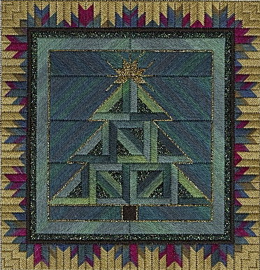 click here to view larger image of Holiday Tree (counted canvas work)