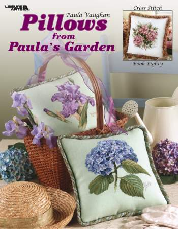 click here to view larger image of Pillows From Paula's Garden (book)
