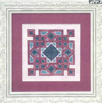 click here to view larger image of Celtic Quilts -  Crown Of Squares (chart)