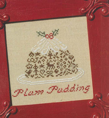 click here to view larger image of English Plum Pudding (chart)