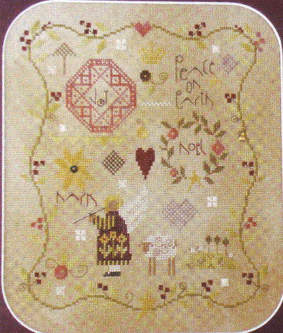click here to view larger image of Glad Tidings (counted cross stitch kit)