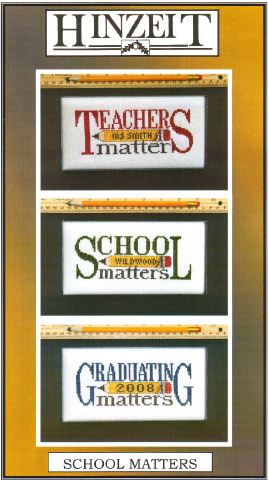 click here to view larger image of School Matters (chart with charms/buttons)
