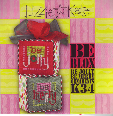 click here to view larger image of BE BLOX (counted cross stitch kit)