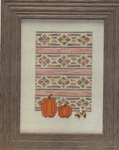 click here to view larger image of Indian Summer (chart with charms/buttons)
