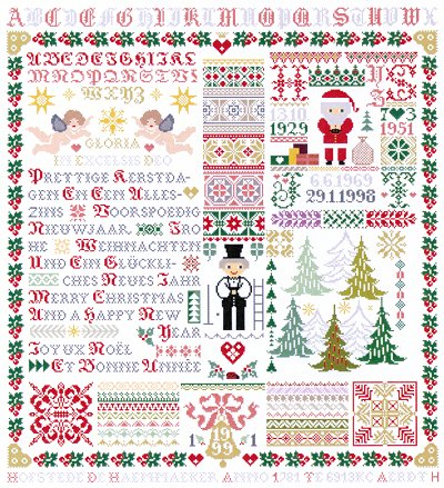 click here to view larger image of Christmas Wishes 1999 (chart)