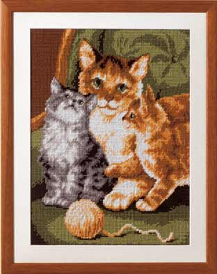 click here to view larger image of Vervaco (6133) (needlepoint kits)