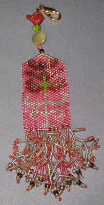 click here to view larger image of Autumn Etui Fob (bead kit)