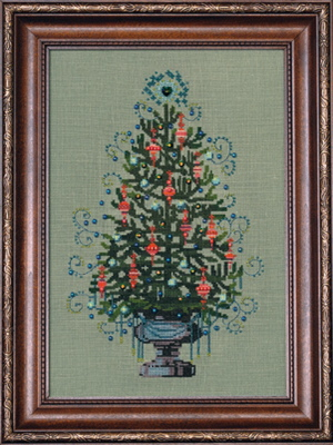 click here to view larger image of Christmas Tree 2008 (counted cross stitch kit)