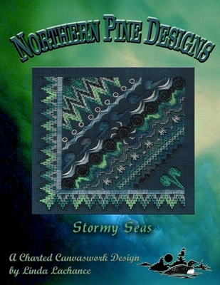 click here to view larger image of Stormy Seas (counted canvas work)