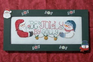click here to view larger image of Be Jolly, By Golly (chart)