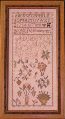 click here to view larger image of MB Circa 1810 Sampler (chart)