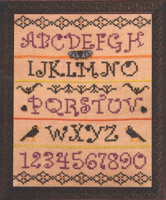 click here to view larger image of Bit Of Halloween Sampler (chart)