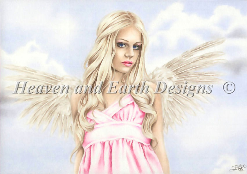 click here to view larger image of Angel In Pink (chart)