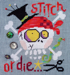 click here to view larger image of Stitch or Die (chart)