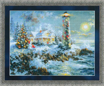 click here to view larger image of Lighthouse Christmas (chart)