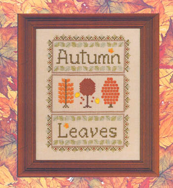click here to view larger image of Autumn Leaves II (chart)