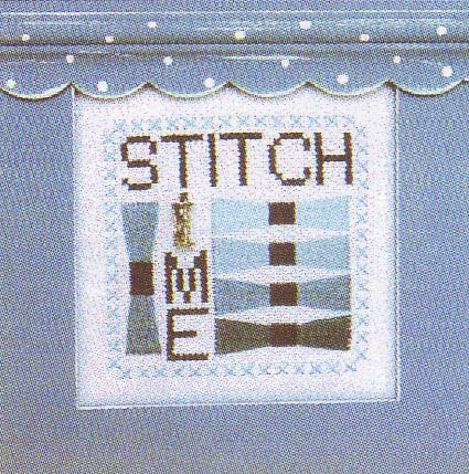 click here to view larger image of Stitch Time - Charmed Wordplay (chart with charms/buttons)