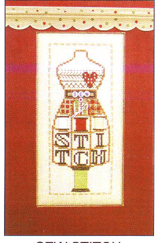 click here to view larger image of Sew Stitch  - Dress Form (chart)