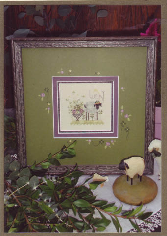 click here to view larger image of Lucky Sheep (counted cross stitch kit)