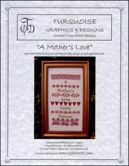 click here to view larger image of Mother's Love, A (chart)