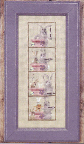 click here to view larger image of Photobooth - Easter Surprise (counted cross stitch kit)