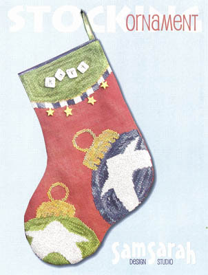 click here to view larger image of Ornament Stocking (chart)