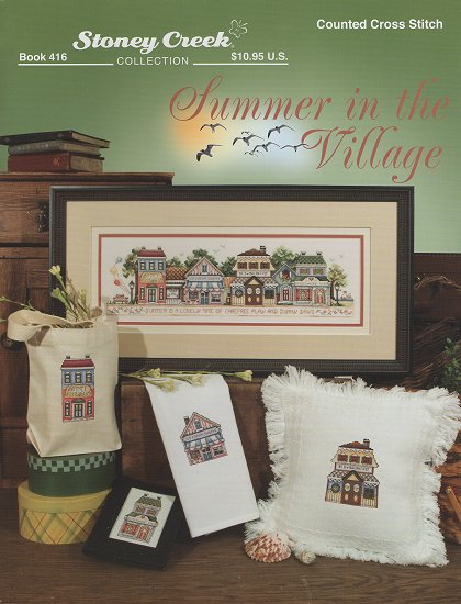 click here to view larger image of Summer In The Village (chart)