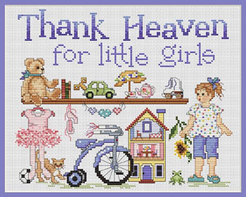 click here to view larger image of Thank Heaven For Little Girls (chart)
