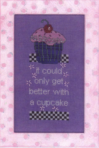 click here to view larger image of Better With A Cupcake (chart)