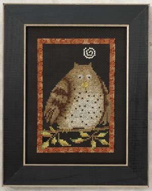 click here to view larger image of Hooty Owl (2010) (counted cross stitch kit)