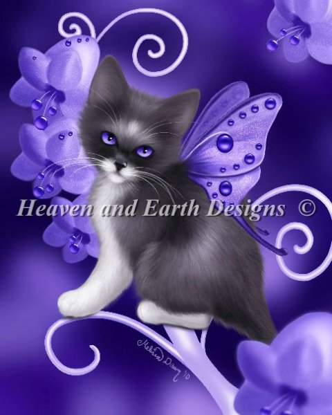 click here to view larger image of Amethyst Cat (chart)