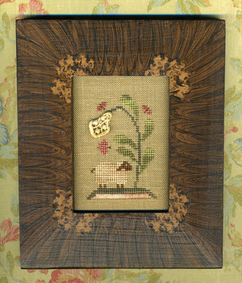 click here to view larger image of Under The Blossom Tree - Snippets and Stitches I (chart)