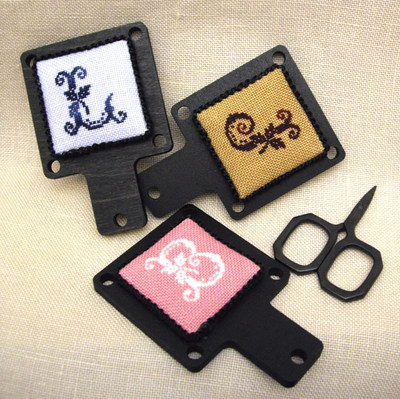 click here to view larger image of Miniature Monogram Hornbook-Margin Marker Kit (chart)