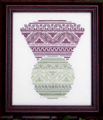click here to view larger image of Thistle Celebration (KIT) (counted cross stitch kit)