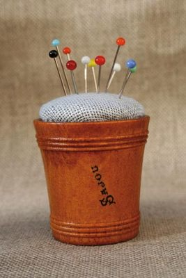 click here to view larger image of Wooden Pin Cushion (accessory)
