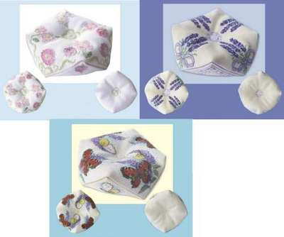 click here to view larger image of Tuffet (Kit) (counted cross stitch kit)