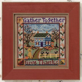 click here to view larger image of Gather Together (counted cross stitch kit)