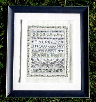 click here to view larger image of Bluefield Sampler - KIT (chart)
