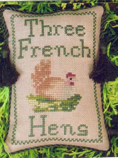 click here to view larger image of Three French Hens (chart)