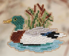 click here to view larger image of Mallard (2010) (counted cross stitch kit)