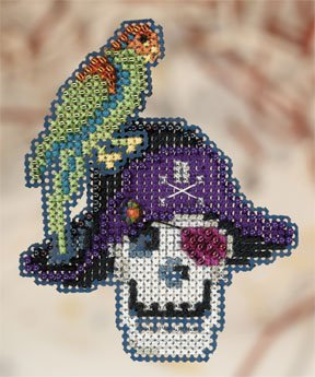 click here to view larger image of Irate Pirate  (2010) (counted cross stitch kit)