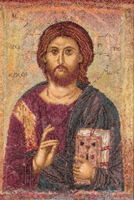 click here to view larger image of Christ Pantocrator (counted cross stitch kit)